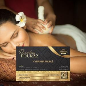 Masáž bylinnými batôžtekmi – Massage with Herbal Packs